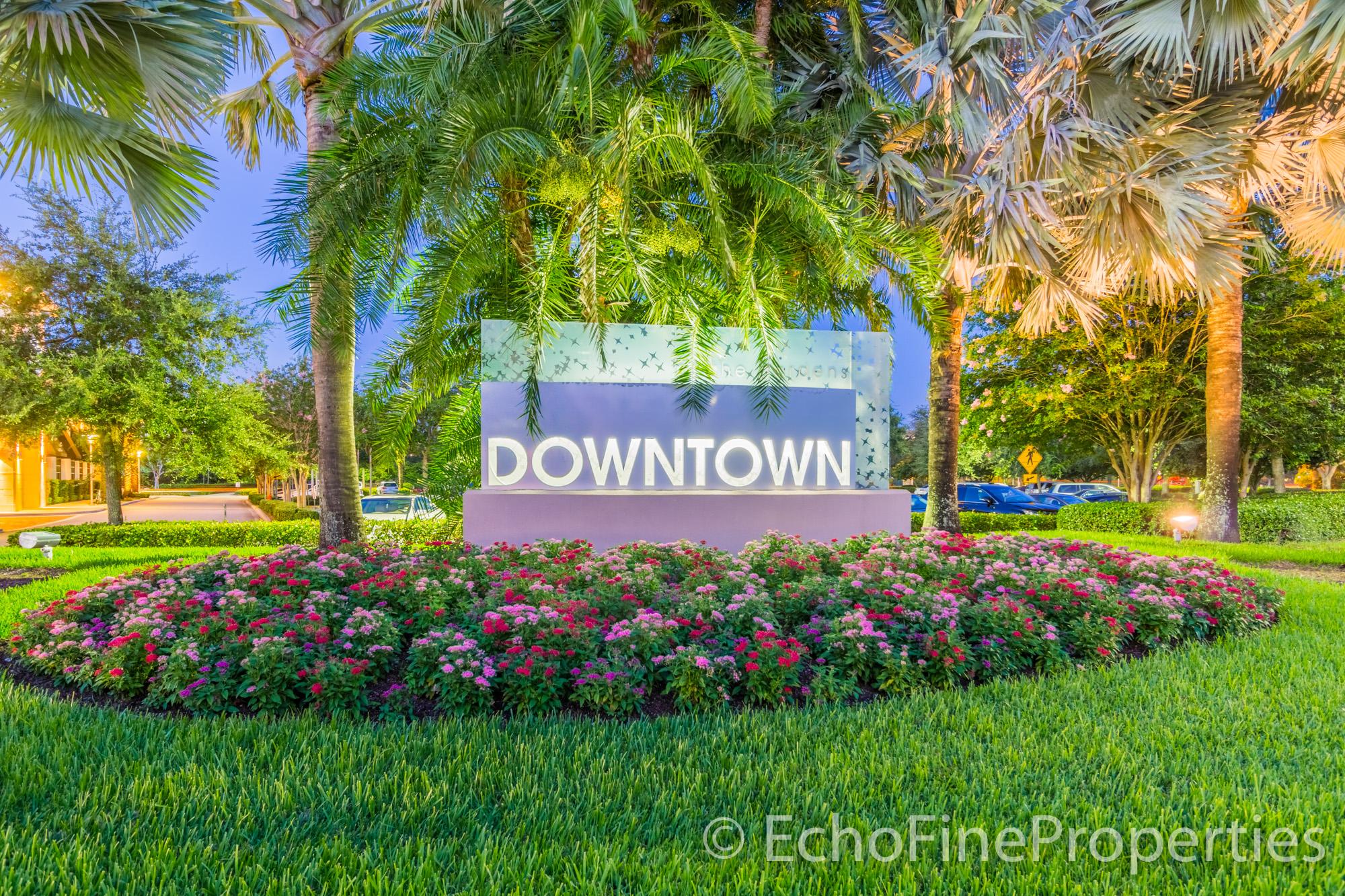 community-sign_Downtown-Gardens Palm Beach Gardens