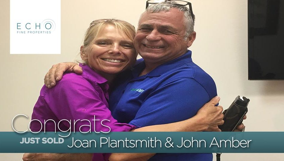 Congratulations to Joan Plantsmith & John Amber on the purchase of their home! 🎉🏡