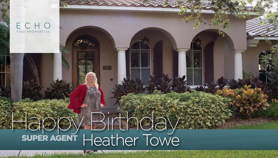 Happy Birthday Heather E Towe!