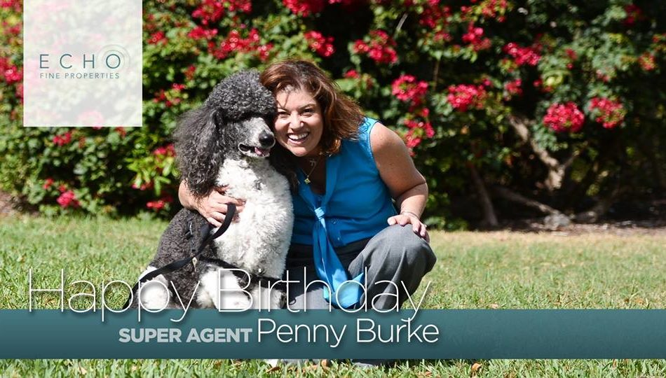 Happy Birthday to #EchoAgent, Penny Schwam-Burke!