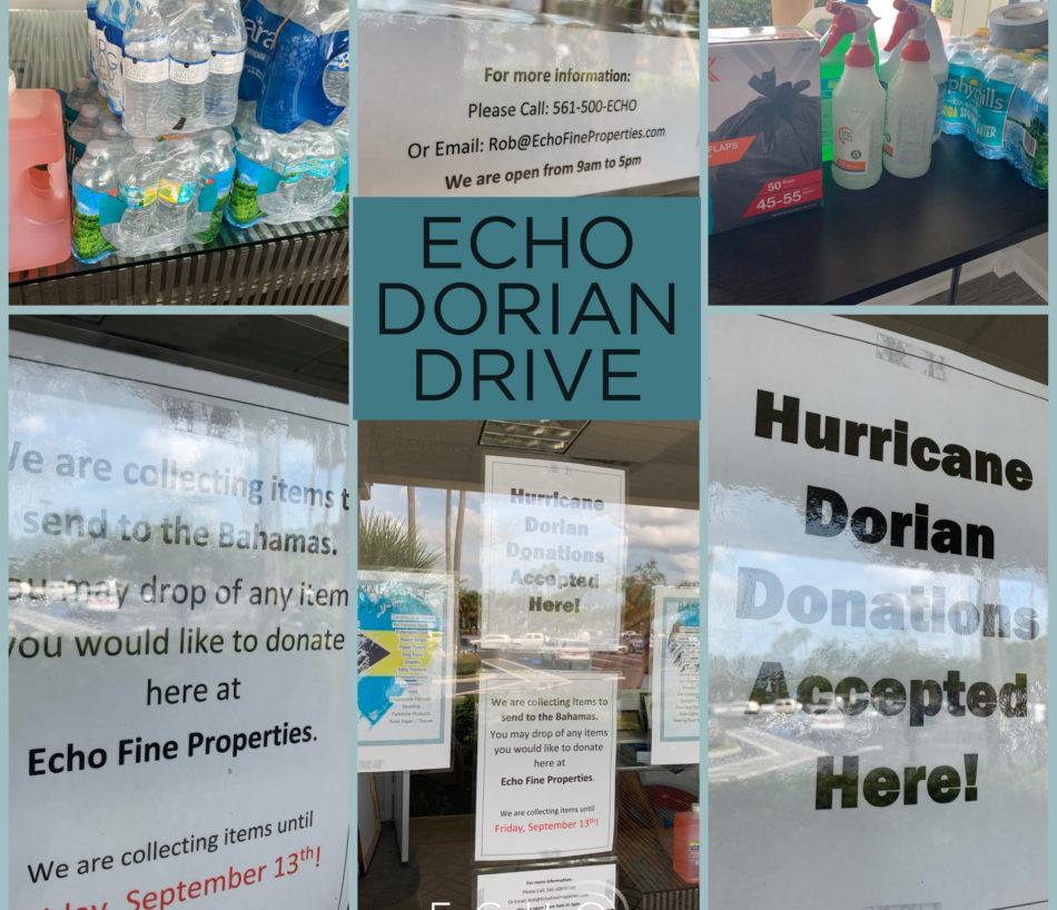 Echo Hurricane Dorian Drive