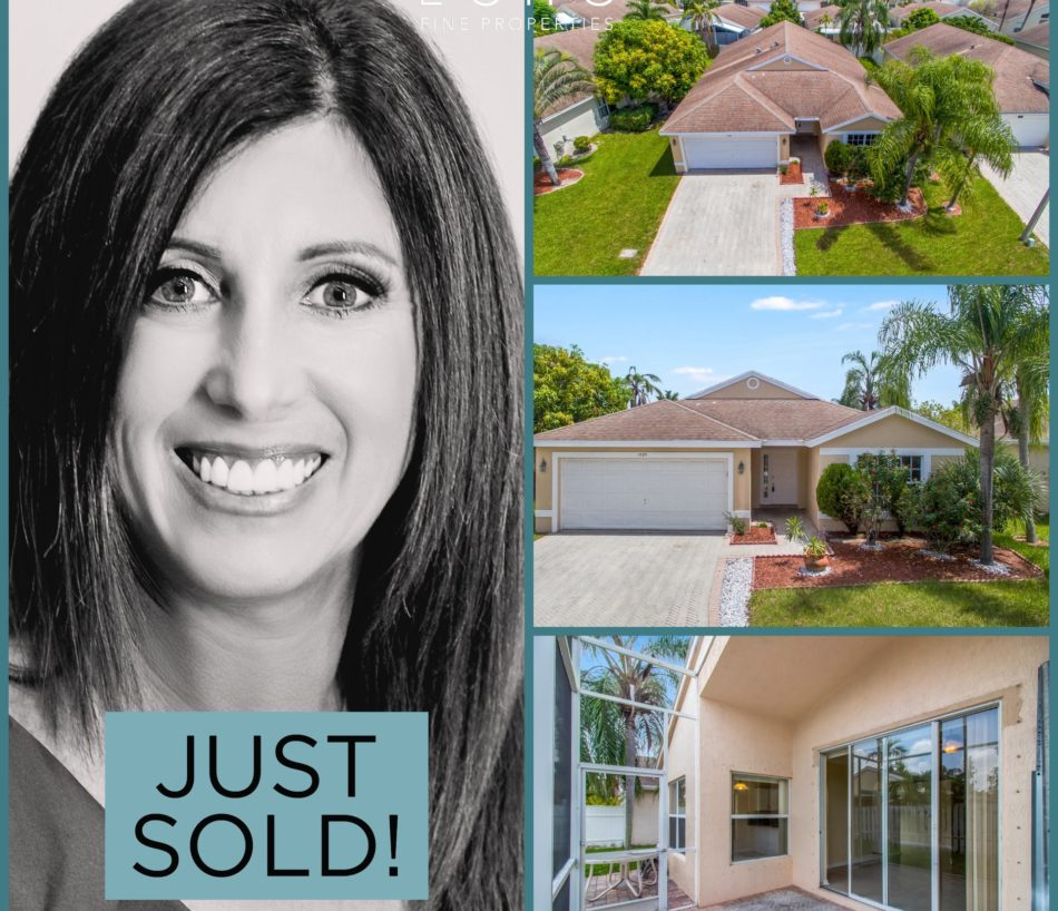 JUST SOLD IN GREENACRES!