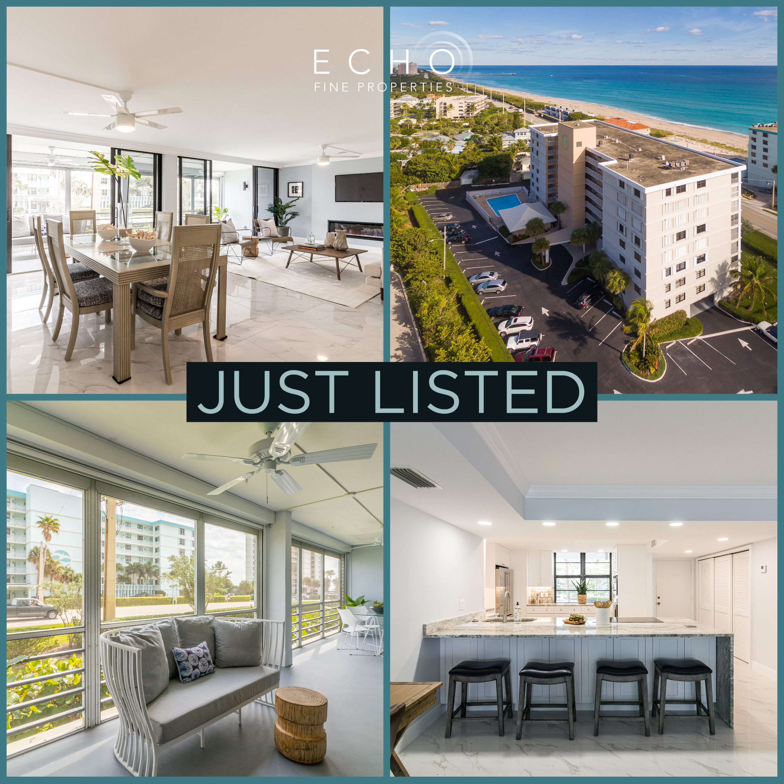 Just Listed | Feel the Joy of Home ECHOnomics in Juno Beach | 911 Ocean Drive #103