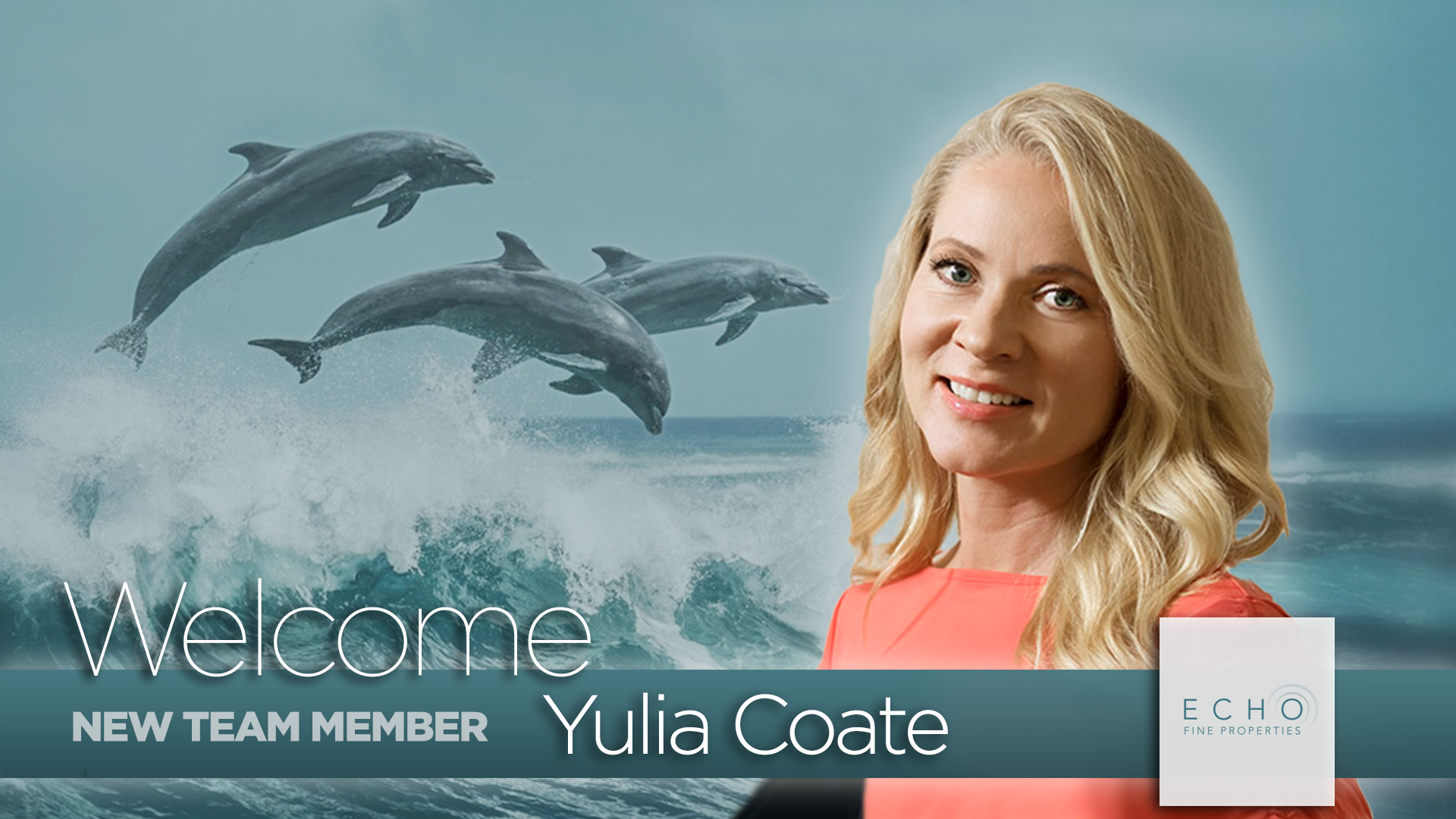 Yulia Coate- Welcome
