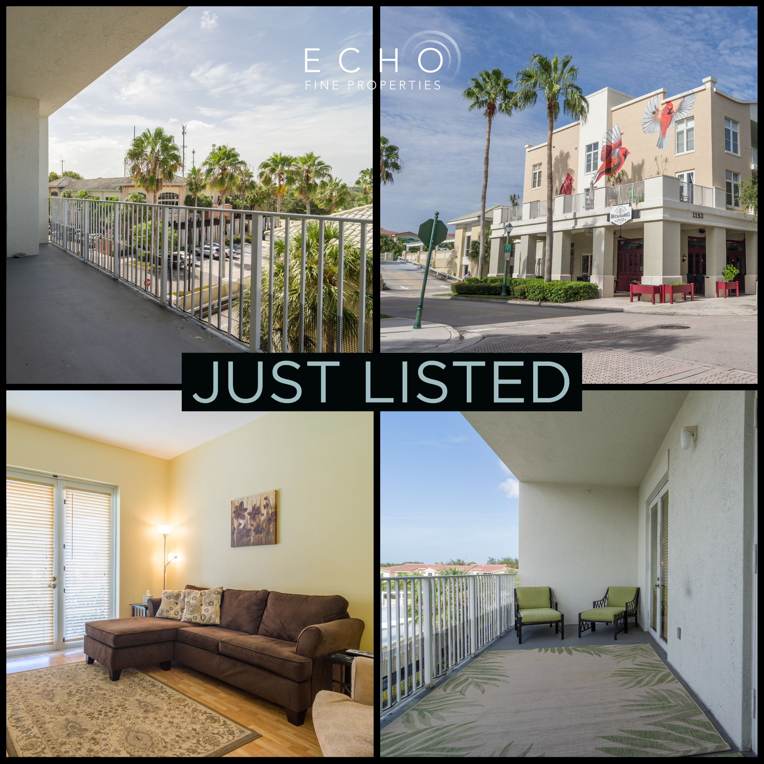 Just Listed | Adorable in Abacoa | 1153 Town Center Drive #302