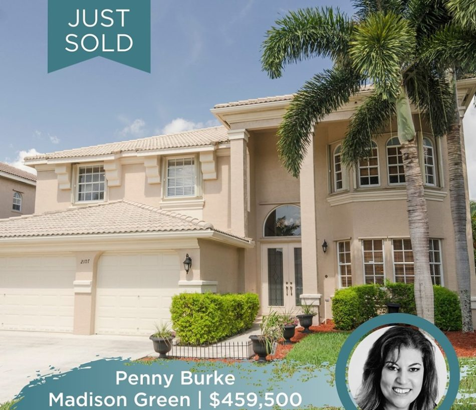 JUST SOLD IN MADISON GREEN!