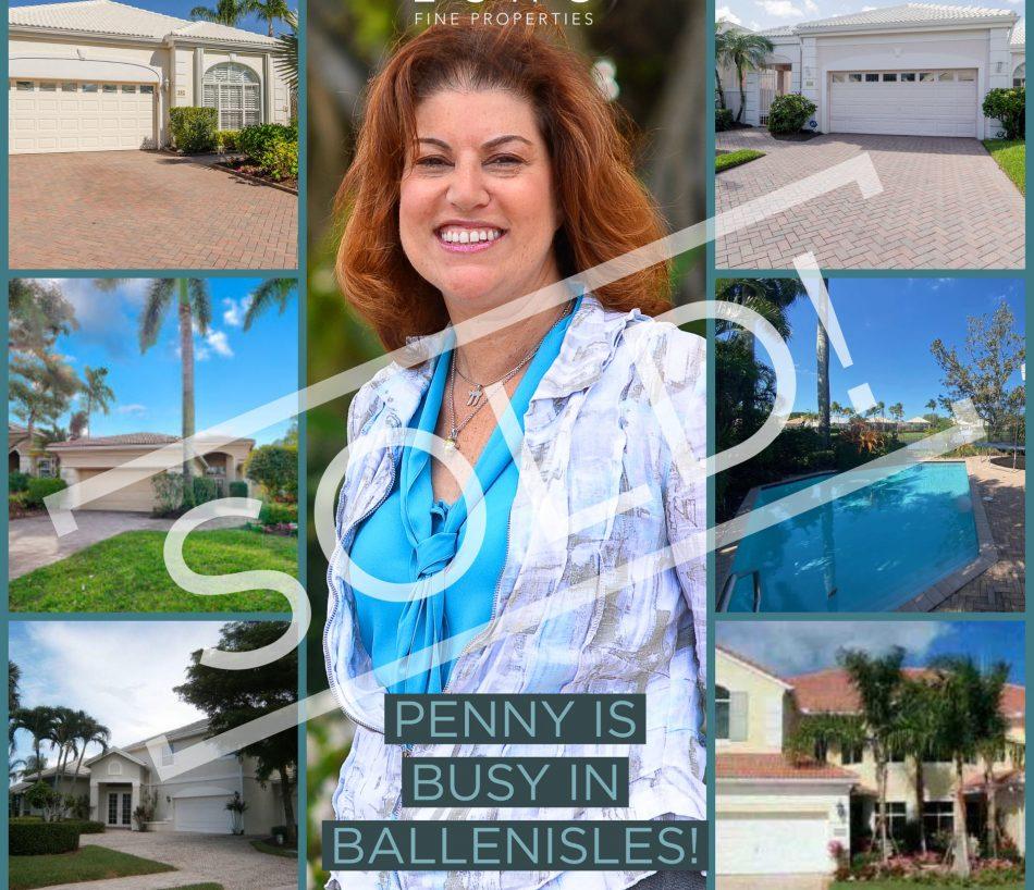 PENNY IS BUSY IN BALLENISLES!