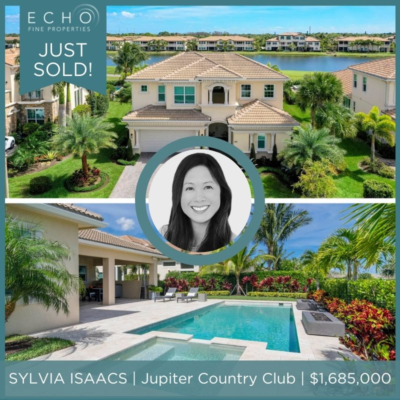 JUST SOLD IN JUPITER COUNTRY CLUB!