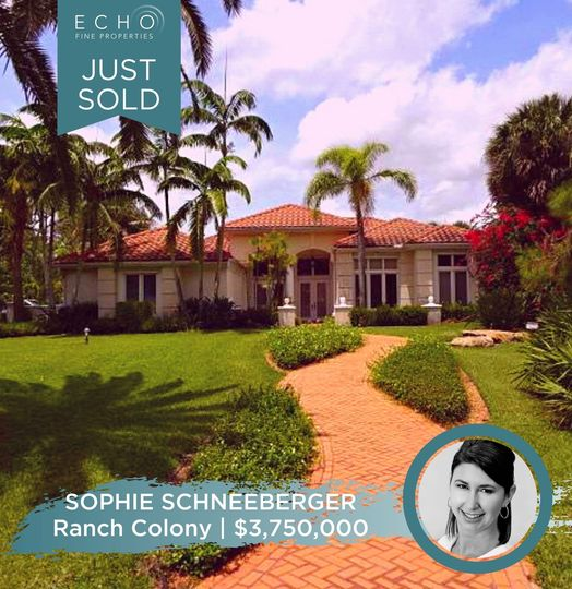 JUST SOLD IN RANCH COLONY!