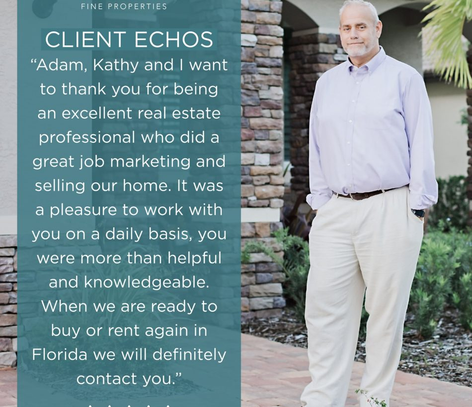 WE LOVE HEARING FROM OUR HAPPY CLIENTS!